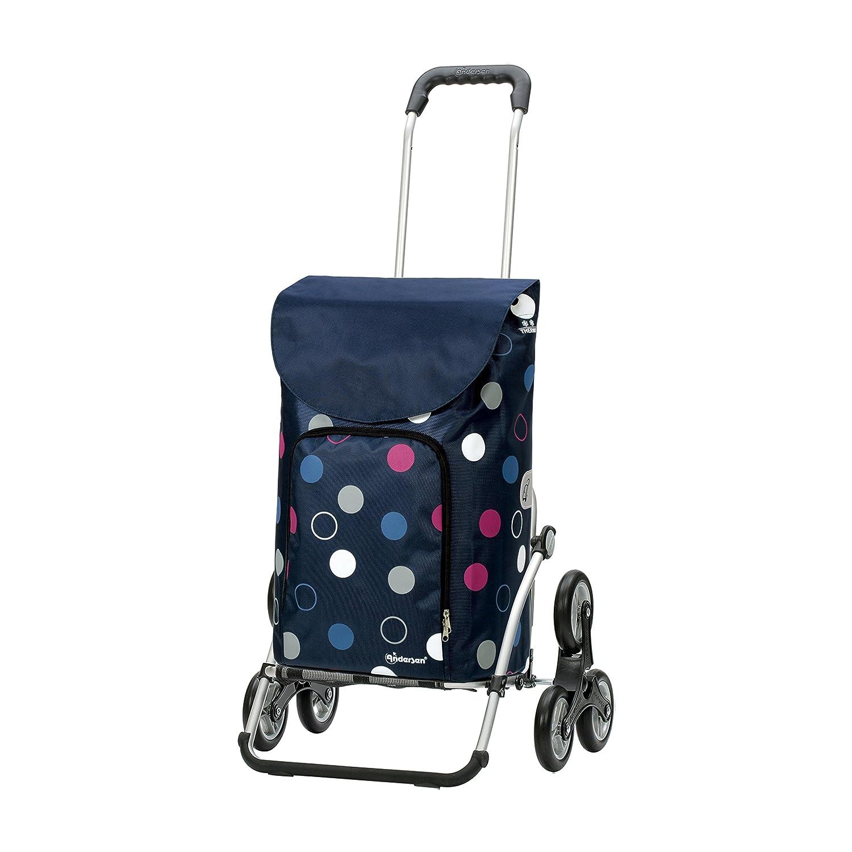 Andersen Shopper Royal Treppensteiger und 41 Liter Tasche Tasche Tasche Kira blau mit Kühlfach B079TXYCQC Einkaufstrolleys 6861d6