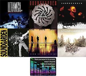 Soundgarden: Complete Studio Album Discography 6 CD Collection with Bonus Art Card (Ultramega OK / Louder Than Love /Badmotorfinger / Superunknown / Down on the Upside / King Animal )