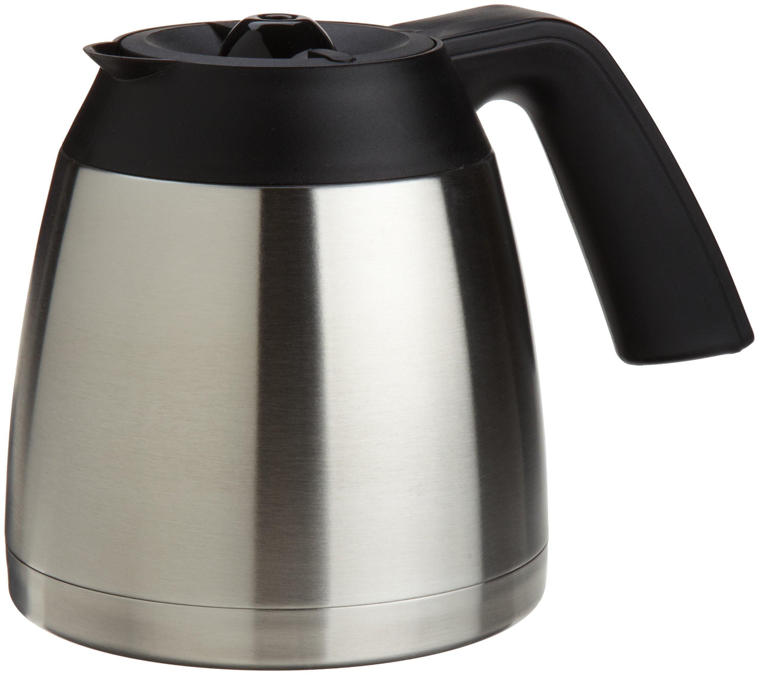 Capresso 4445.05 444.05 Carafe, 10 cup, Black by Capresso