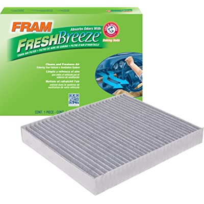 FRAM CF11966 Fresh Breeze Cabin Air Filter with Arm & Hammer: Automotive