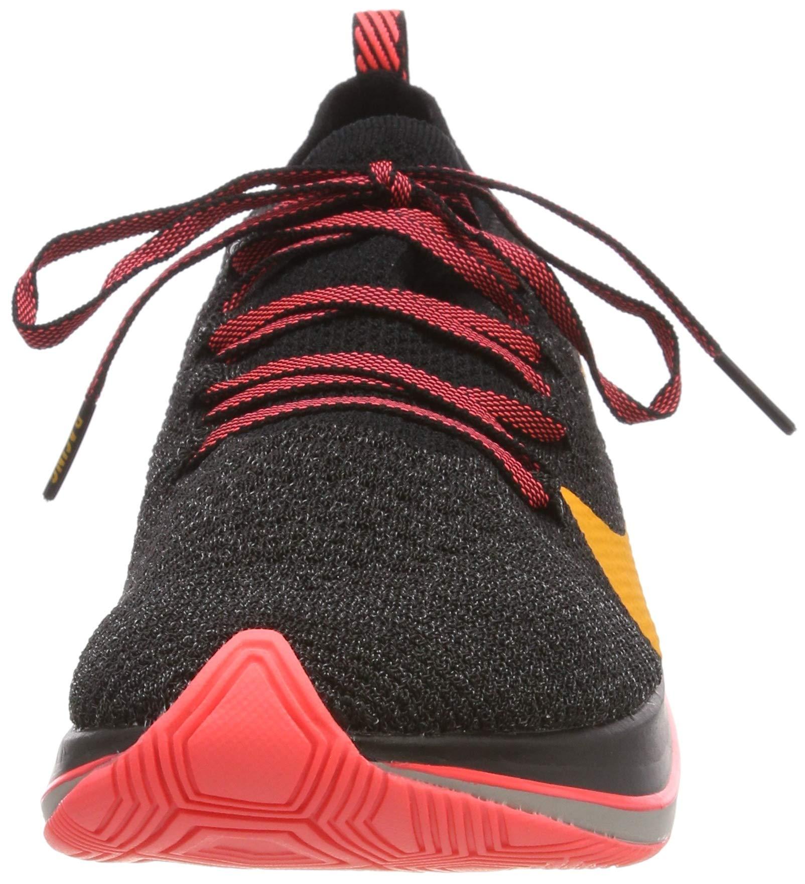 Nike Zoom Fly Flyknit Men's Running Shoe Black/Orange Peel-Flash Crimson Size 8 M US by Nike (Image #4)