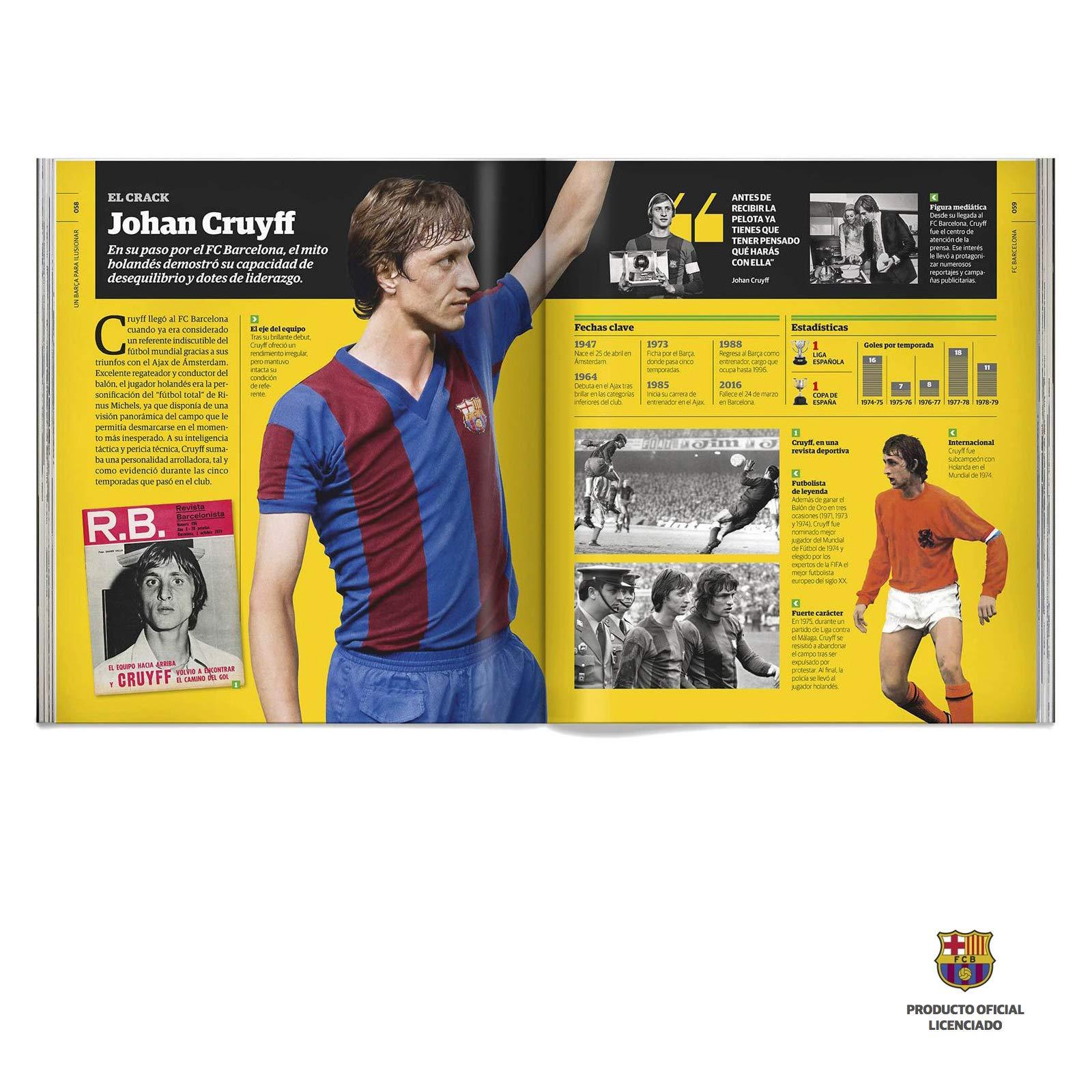 FC Barcelona, la historia completa del club | Libro FC Barcelona ...