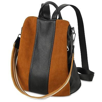 93c4cf4eb6 ANTI-THEFT Backpacks for Women Large Capacity Nylon Genuine Leather ...
