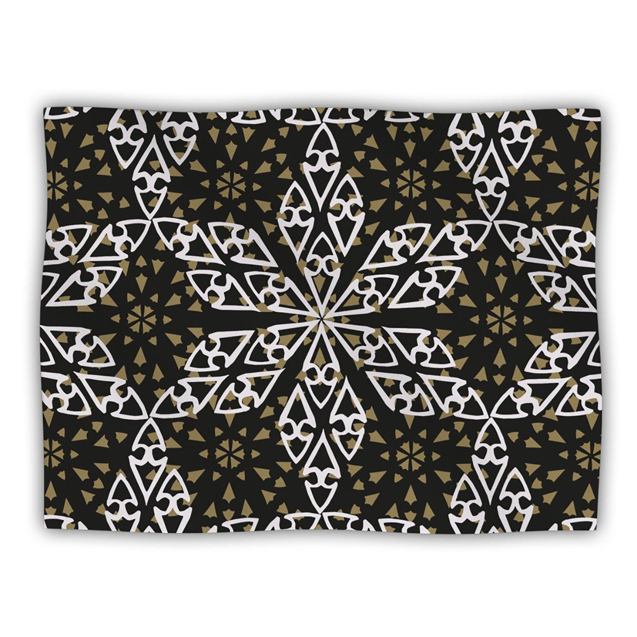 Kess InHouse Miranda Mol 'Ethnical Snowflakes' Dog Blanket, 40 by 30-Inch