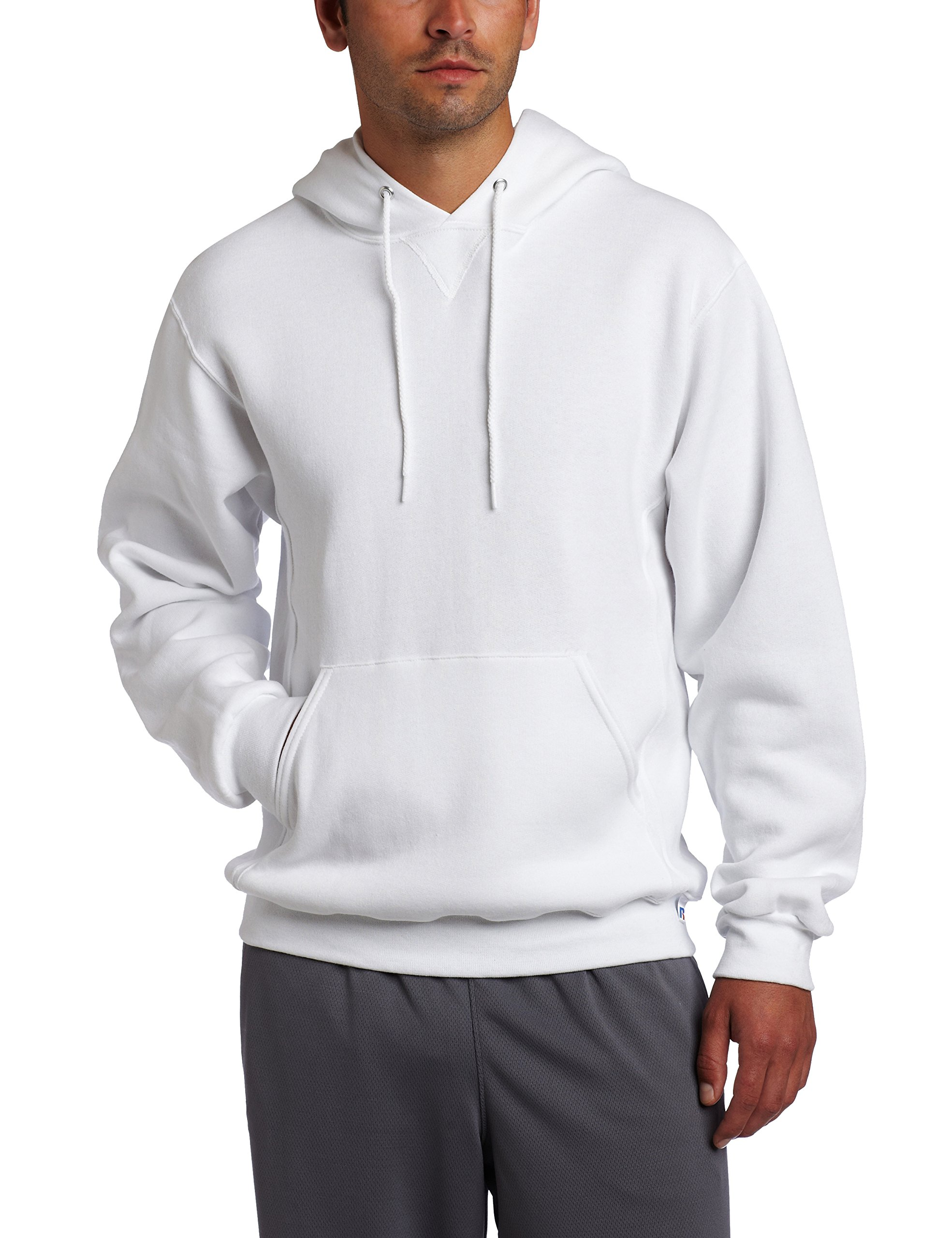 Dri-Power Fleece Pullover Hood - White - XXXX-Large