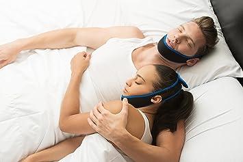¡No más ronquidos! - Correa de mandíbula antirronquidos - Satisfacción 100% garantizada - Tapón de ronquido recomendado por expertos