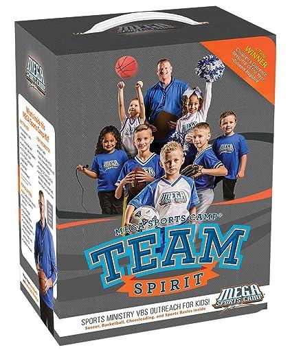 Amazon.com: vbs-mega deportes Camp: espíritu de equipo Kit ...