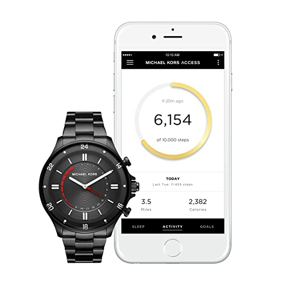 e4ffb33d332e Michael Kors Men s Smartwatch MKT4015  Amazon.co.uk  Watches