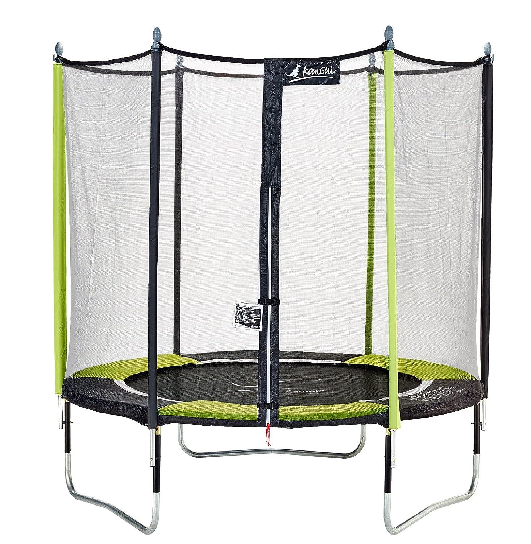 Kangui – Gartentrampolin 244 cm + Sicherheitsnetz Jumpi Pop 250