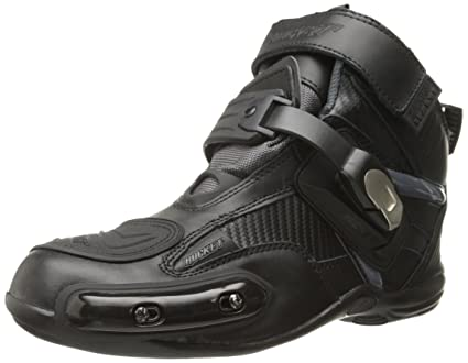 954598befd6fe Amazon.com: Joe Rocket Atomic Men's Motorcycle Riding Boots/Shoes  (Black/Grey, Size 9): Automotive