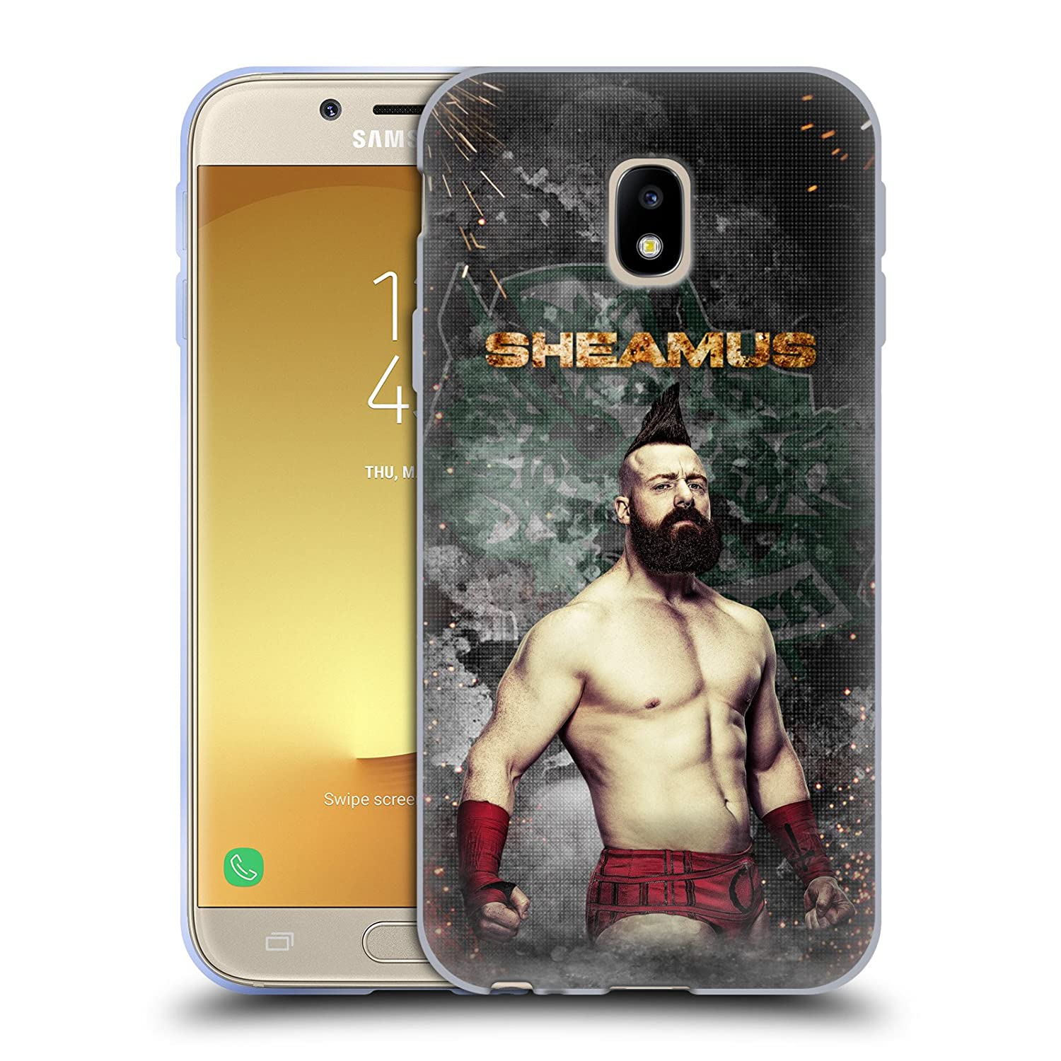 Amazon Official Wwe Led Image Sheamus Soft Gel Case For Samsung
