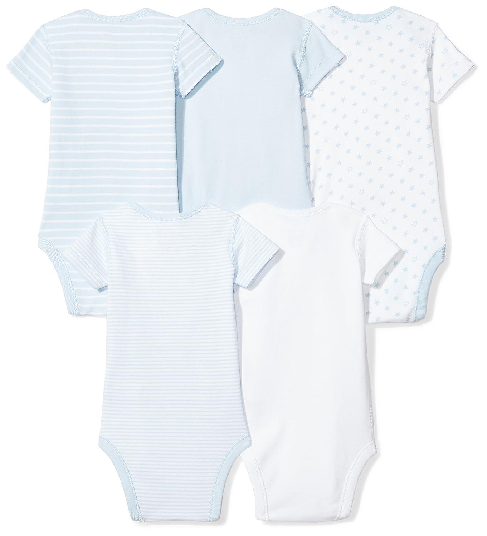 Amazon Moon and Back Baby Set of 5 Organic Short Sleeve