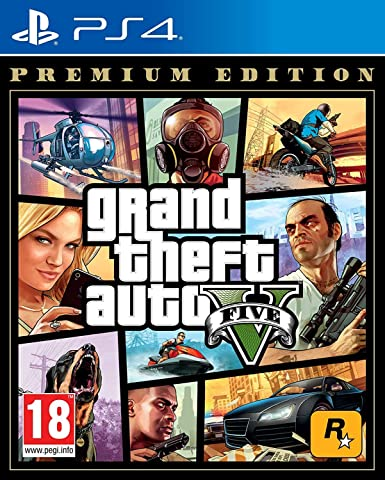 Grand Theft Auto V (GTA 5) Premium Edition PS4: Amazon.es: Videojuegos