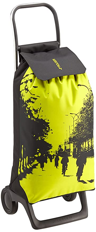 Rolser JET016M Joy/City Poussette à Marché Polyester Rose/Multicolore 32 x 27 x 95 cm 40 L Lg2RIBx