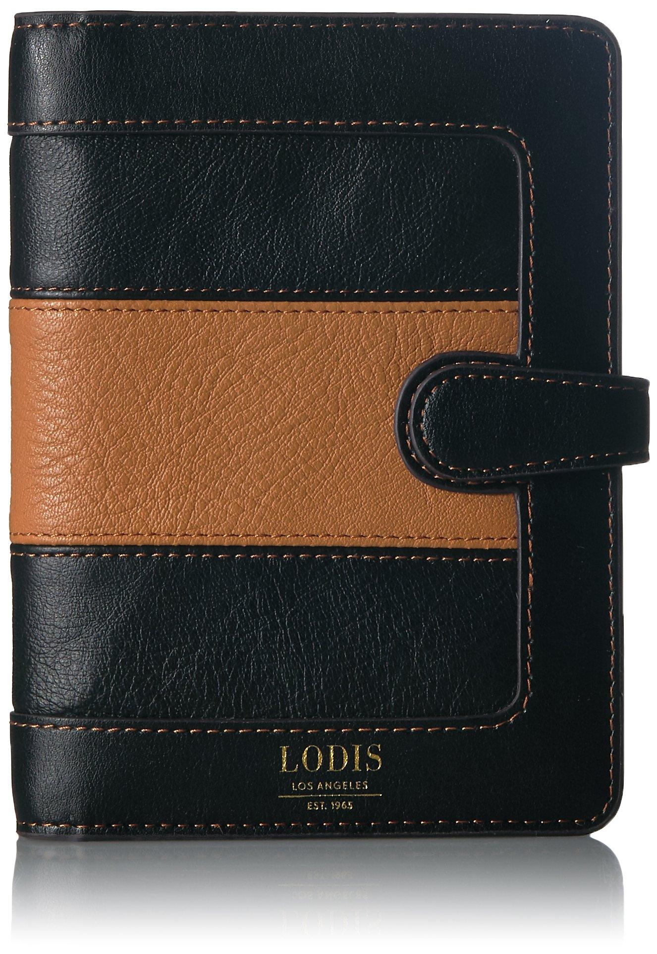 Lodis Laguna Rugby Kimmy Passport Notebook Case, Black
