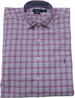 38a0ff8b Ralph Lauren Men's Estate Dress Shirt Big Tall Long Sleeve Stretch