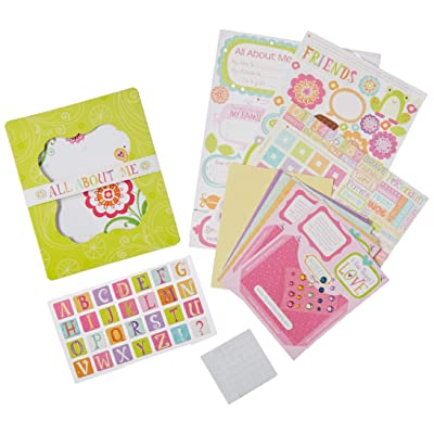 American Girl Crafts Mini Scrapbook Journal Kit for Girls, 266pc: Arts, Crafts & Sewing