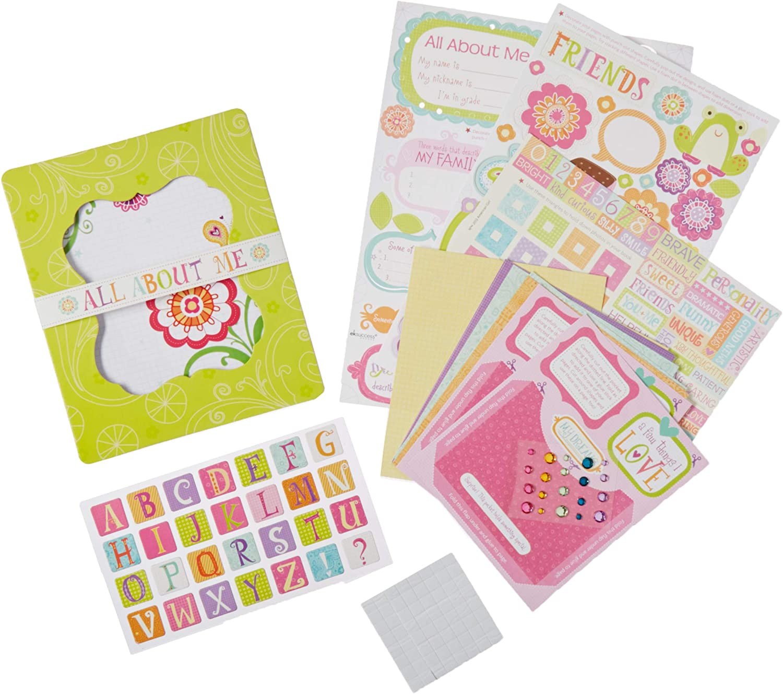 American Girl Crafts Mini Scrapbook Journal Kit for Girls 266pc