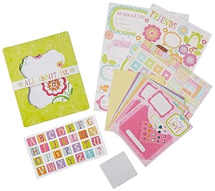 Amazon Com American Girl Crafts Mini Scrapbook Journal Kit For