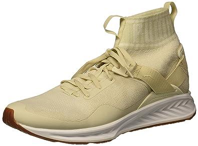 9fa34a721d25 PUMA Men s Ignite Evoknit Hypernature Sneaker Birch-Whisper White