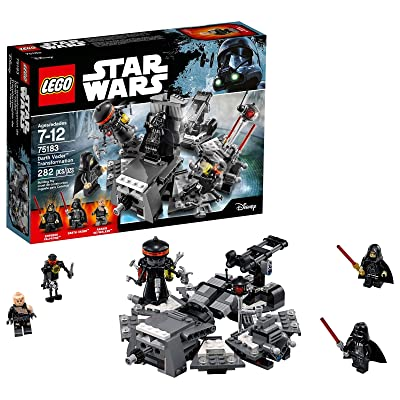 LEGO Star Wars Darth Vader Transformation 75183 Building Kit: Toys & Games