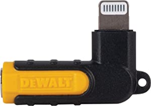 DEWALT 90-Degree Audio Adapter for Lightning