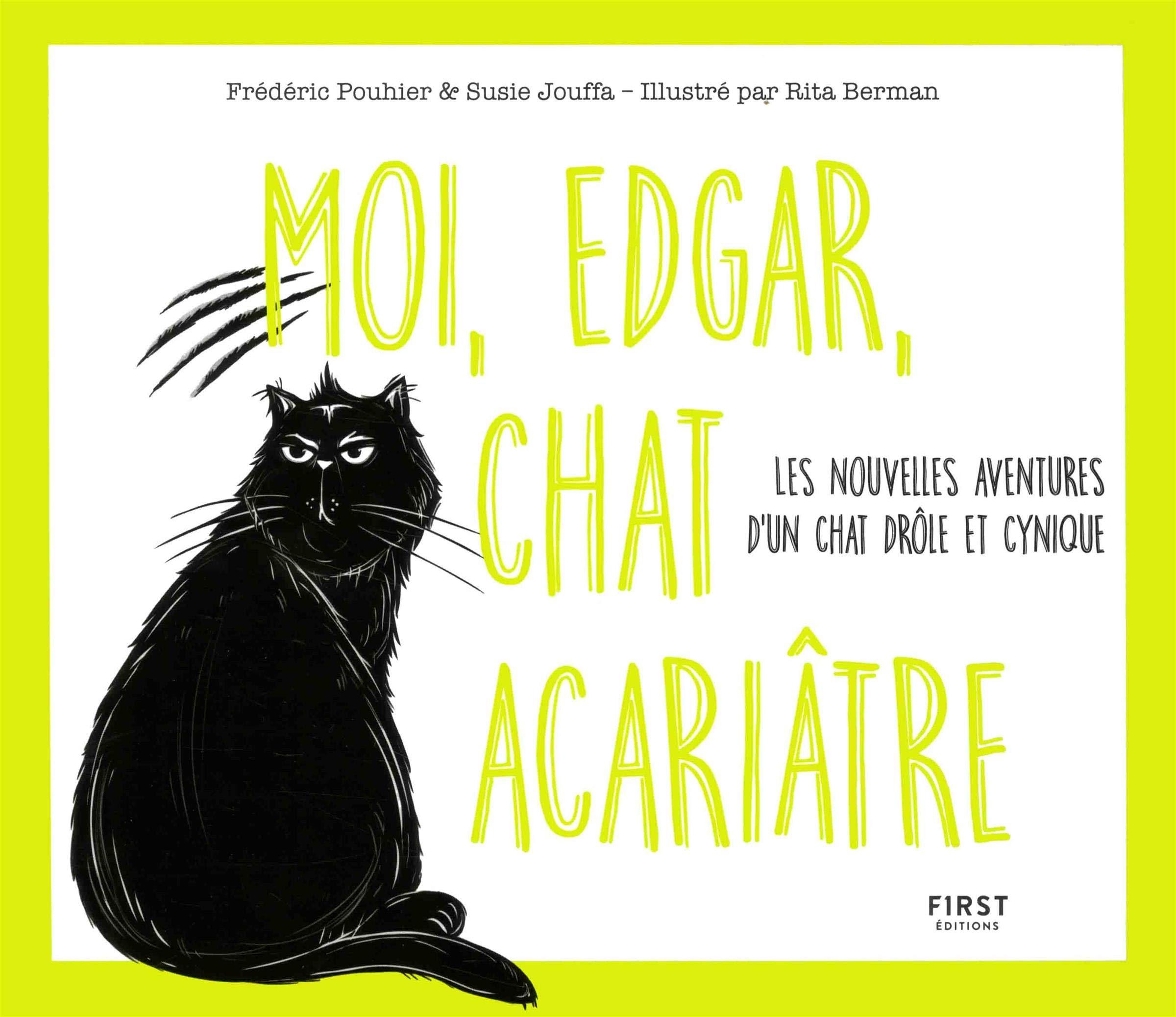 Moi, Edgar, chat acariâtre tom…