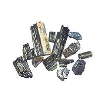 Crocon Bulk in tormalina nera naturale grezza pietra preziosa Rough cristalli per la guarigione Tumbling Cabbing lucidatura