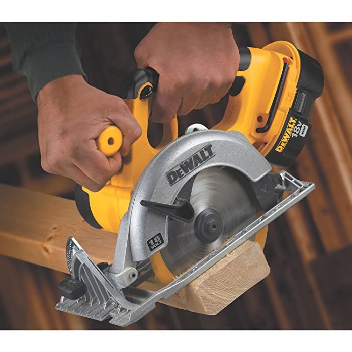 DEWALT Bare-Tool DC390B 6-1/2-Inch 18-Volt Cordless Circular Saw via Amazon