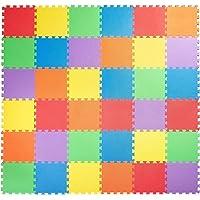 Starkhausen 36 Piece Kids Puzzle Exercise Play Mat with EVA Foam Interlocking Tiles, Safe Non-Toxic Children's…