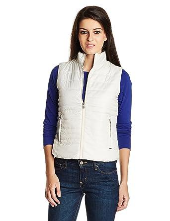 Pepe Jeans Women's Jacket (OLLIE SL_Off-White_Medium)