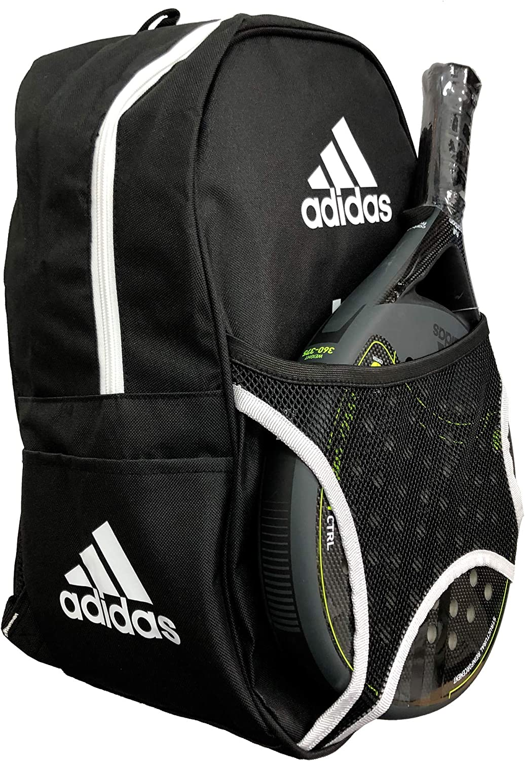 adidas Mochila Pádel Backpack Club (White): Amazon.es: Deportes y ...