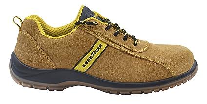 Goodyear G138/3053C - Calzado (piel serraje, talla 41) color camel