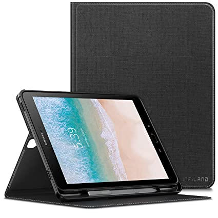 save off 39377 f23a1 Infiland Samsung Galaxy Tab S3 Case, Front support Case with S Pen Holder  Compatible with Samsung Galaxy Tab S3 9.7 inch (T820/T825) Tablet, with  Auto ...