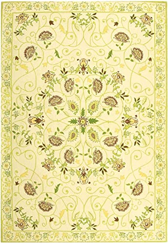 Safavieh Chelsea Collection HK330B Hand-Hooked French Country Wool Area Rug