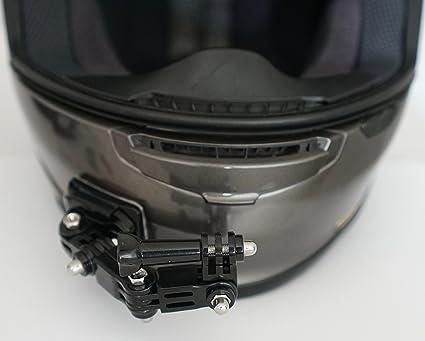 Amazon Motoradds Motorcycle Curved Chin Mount Kit Frame Gopro