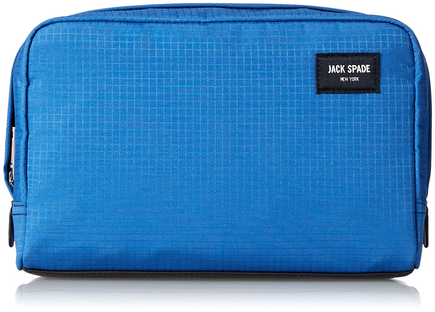 Amazon.com: Jack Spade Men's Solid Ripstop Slim Toiletry Kit, Admiral Blue:  Clothing