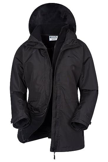 Mountain Warehouse Fell Womens 3 in 1 Jacket -Water Resistant Rain Jacket 56bfeb0ca