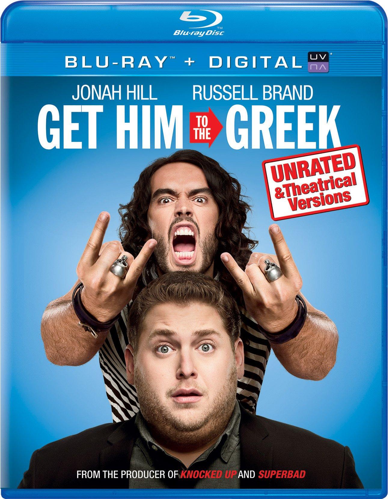 Blu-ray : Get Him to the Greek (Ultraviolet Digital Copy, Digital Copy, Snap Case)