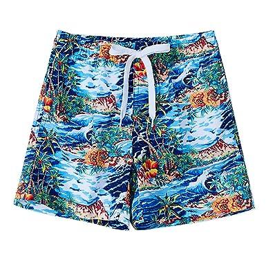 8ff2d63476 uideazone Summer Boy's Surf Board Shorts Swim Shorts Swimwear Swimming  Beach Board Pants