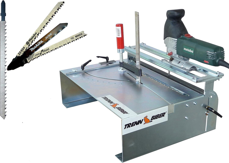 XXL Mesa de sierra para sierra de calar + Bosch Makita + 1 – Hoja ...