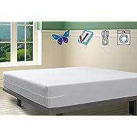 SAVEL, Funda colchón Rizo Microfibra, elástica y Ajustable