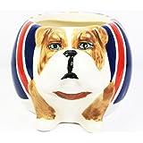 Union Jack Bulldog Mug