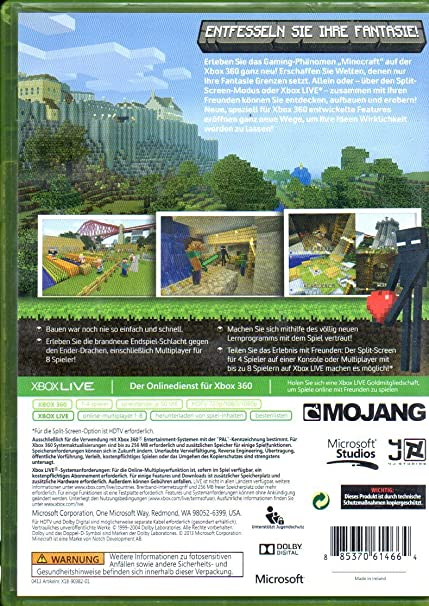 Minecraft XB Amazonde Games - Minecraft online spielen mit freunden