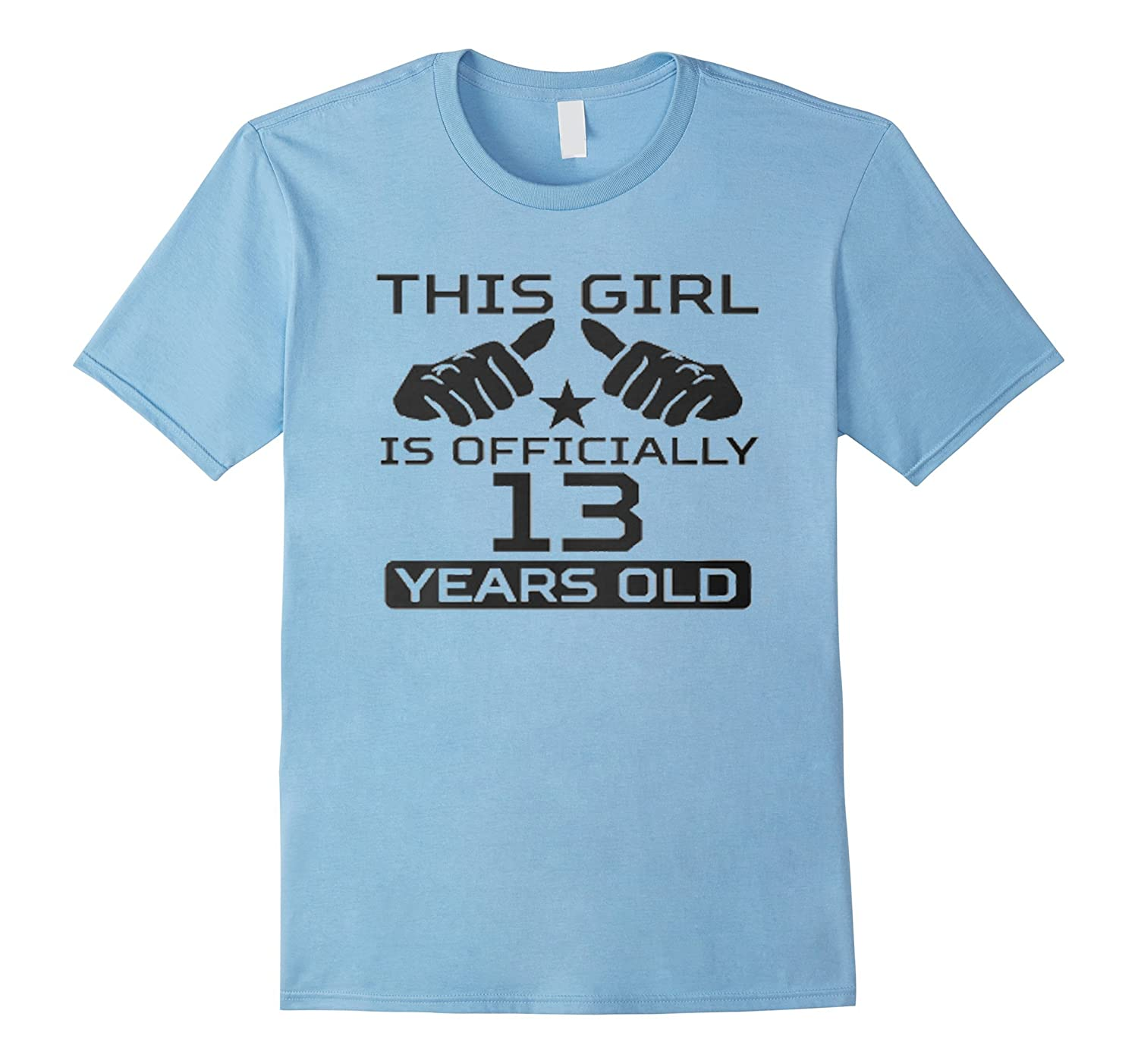 Official Teenager T Shirt - gift for 13th Birthday Girls