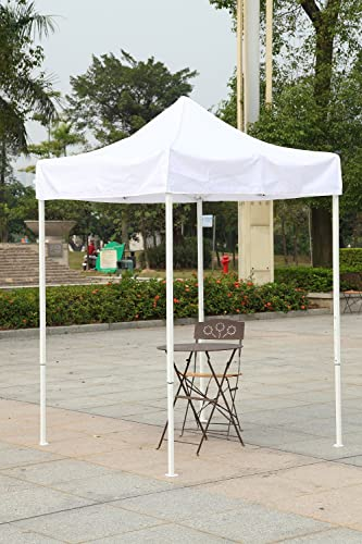 OTLIVE 5×5 Tent Commercial Instant Car Shelters Wedding Party Easy Pop Up Canopie