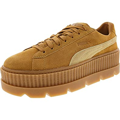 new product e84d1 a3341 PUMA Womens Fenty by Rihanna Suede Cleated Creeper Casual Sneakers,