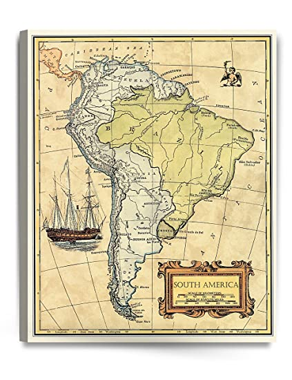 Amazon.com: DECORARTS- South America map Wall Art. Ancient ... on map of belize, map of western hemisphere, map of ecuador, map of nicaragua, map of bahamas, map of united states, map of honduras, map of caribbean, map of middle east, map of costa rica, map of guyana, map of argentina, map of antarctica, map of venezuela, map of guatemala, map of paraguay, map of aruba, map of bolivia, map of dominican republic, map of the americas,
