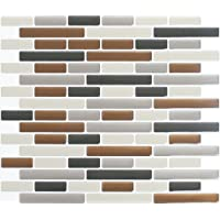 Peel and Impress - Peel and Stick Tile Backsplash, Glass Urban Oblong