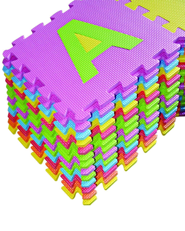 Amazon alphabet puzzle abc play mat 26 tiles eva foam kids amazon alphabet puzzle abc play mat 26 tiles eva foam kids rainbow floor by poco divo baby dailygadgetfo Images